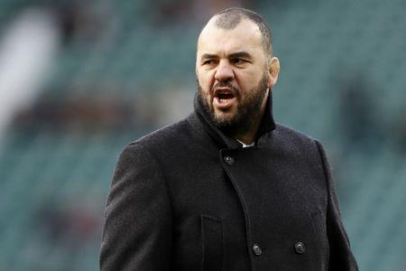 Britain Rugby Union - England v Australia - 2016 Old Mutual Wealth Series - Twickenham Stadium, London, England - 3/12/16 Australia head coach Michael Cheika before the match Reuters / Stefan Wermuth Livepic