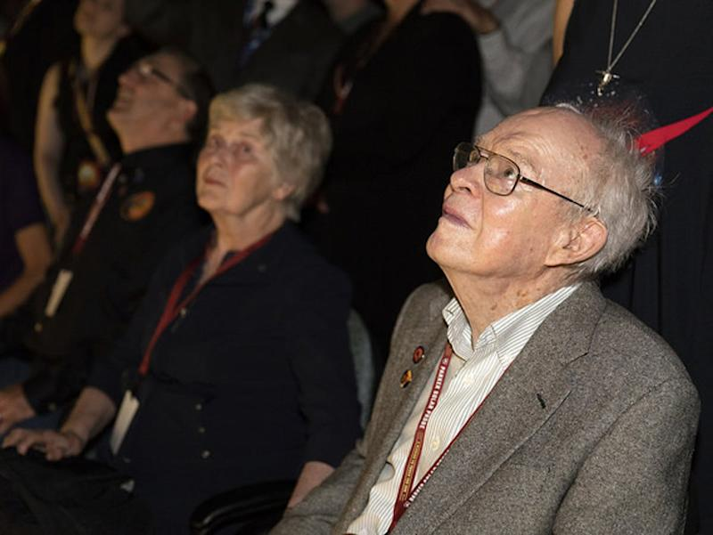 Eugene Parker Reacts to the Launch of His Namesake, the Parker Solar Probe