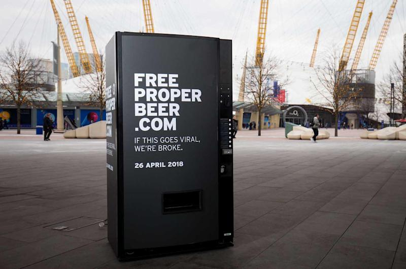 Beer by the O2: Head down to Peninsula Square to claim your free drink: Andrew Fosker / PinPep