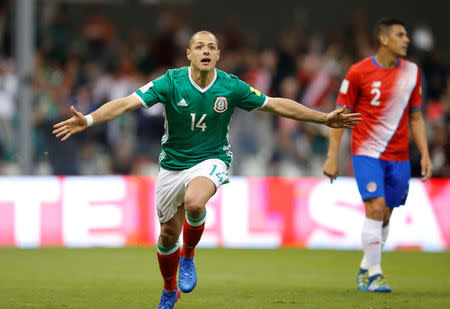 Football Soccer - Mexico v Costa Rica - World Cup 2018 Qualifiers