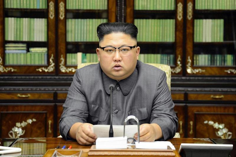 North Korean leader Kim Jong Un has claimed to have the entire US mainland within range (AP)