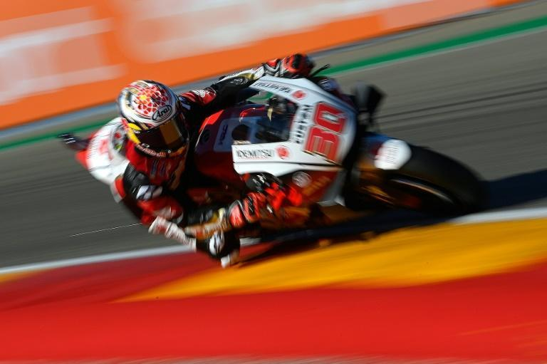 """'Too much pressure"""": Japan's Takaaki Nakagami crashed out on the first lap after starting on pole position"""