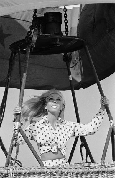 """<div class=""""caption-credit""""> Photo by: Photo by NBC/NBCU Photo Bank via Getty Images</div><b>On a TV special called """"Movin' with Nancy,"""" 1967</b> <br> Sinatra shot these silly, taped segments, which predate today's music video format. Her polka dots, however, are still quite current. <br>"""