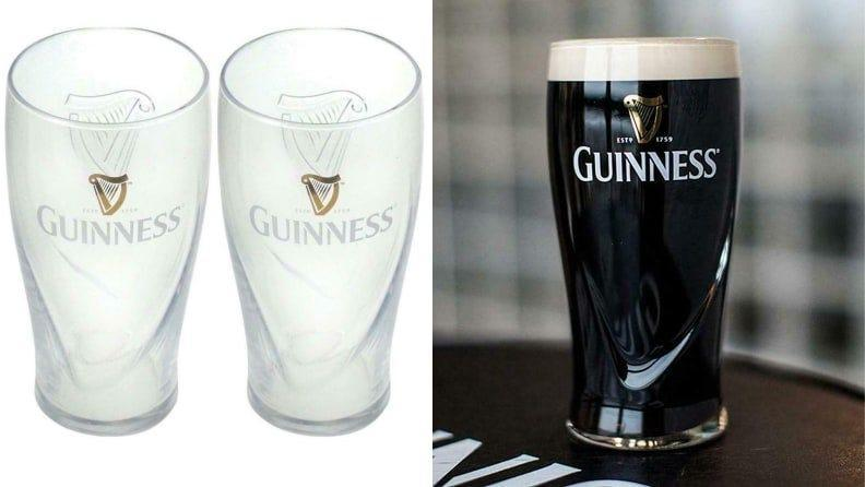 You can't recreate the experience of drinking in an Irish pub, but this glass gets you pretty close.
