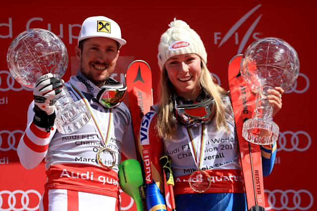 <p>Mikaela has been studying German with a tutor based in Denver via Skype. Last fall, she presented an honor to Marcel Hirscher, the world's top male slalom skier, at an Austrian sports-awards show—and did it all in German. </p>