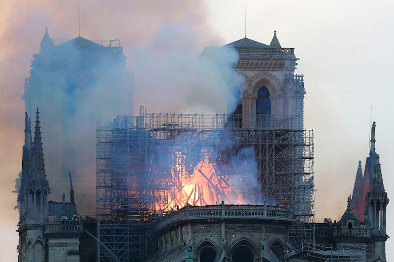 Time-lapse Shots of Notre-Dame Spire May Yield Vital Clues on Devastating Blaze