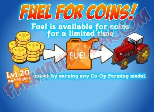 fuel for coins