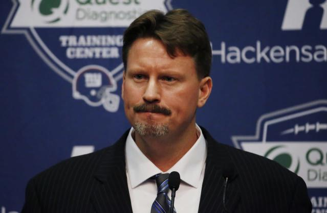 Ex-Giants head coach Ben McAdoo is at the Browns facility interviewing for an offensive position, source says