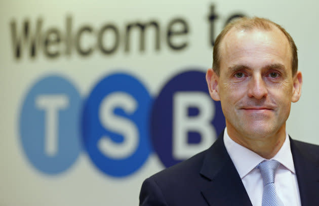TSB chief executive Paul Pester has been criticised by MP's after 1,300 of the banks customers were hit by fraud
