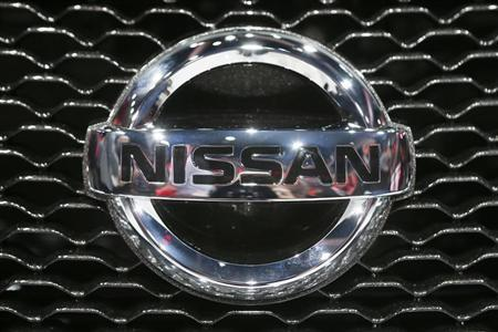 A Nissan logo is pictured during the 2013 Los Angeles Auto Show in Los Angeles