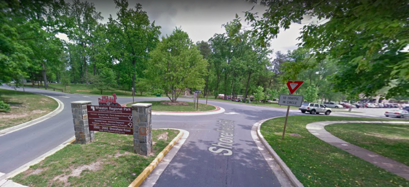 Authorities believe gang members lured an unidentified man to Wheaton Regional Park in Maryland and killed him. (Google Maps)