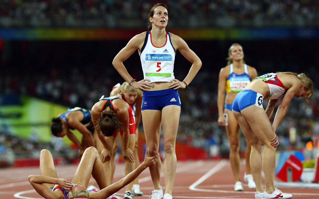 Kelly Sotherton set for another Olympic medal after Tatyana Chernova fails drugs test
