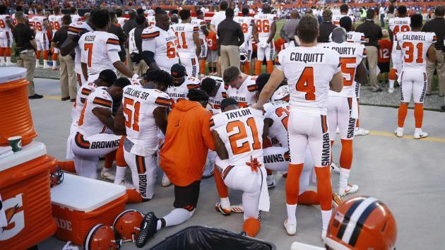 Browns reportedly will make a pregame statement about racial inequality