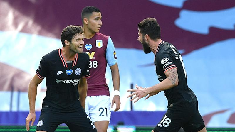 Aston Villa 1-2 Chelsea: Blues go five points clear in fourth
