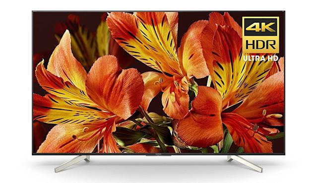 Sony's TV doesn't offer OLED technology, but it's sure to impress.