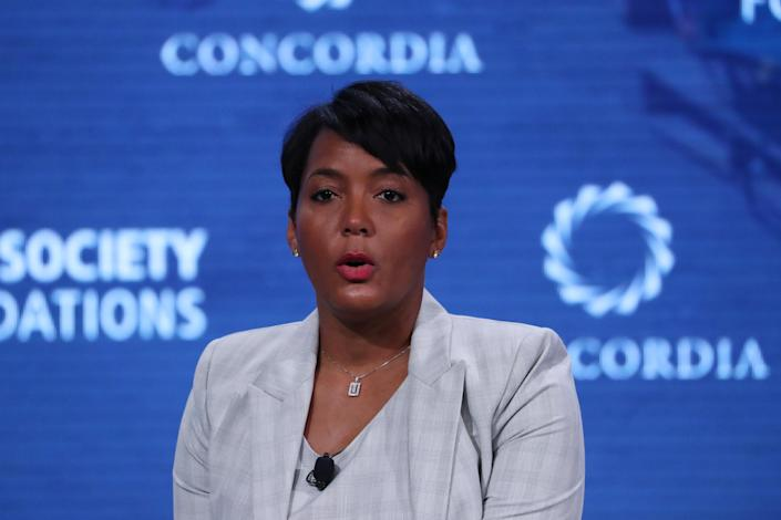 Atlanta Mayor Keisha Lance Bottoms in 2018. (Shannon Stapleton/Reuters)