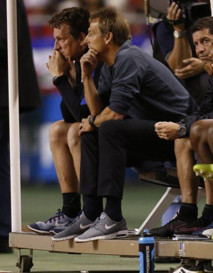 Klinsmann didn't have any answers in Costa Rica. (AP Photo)