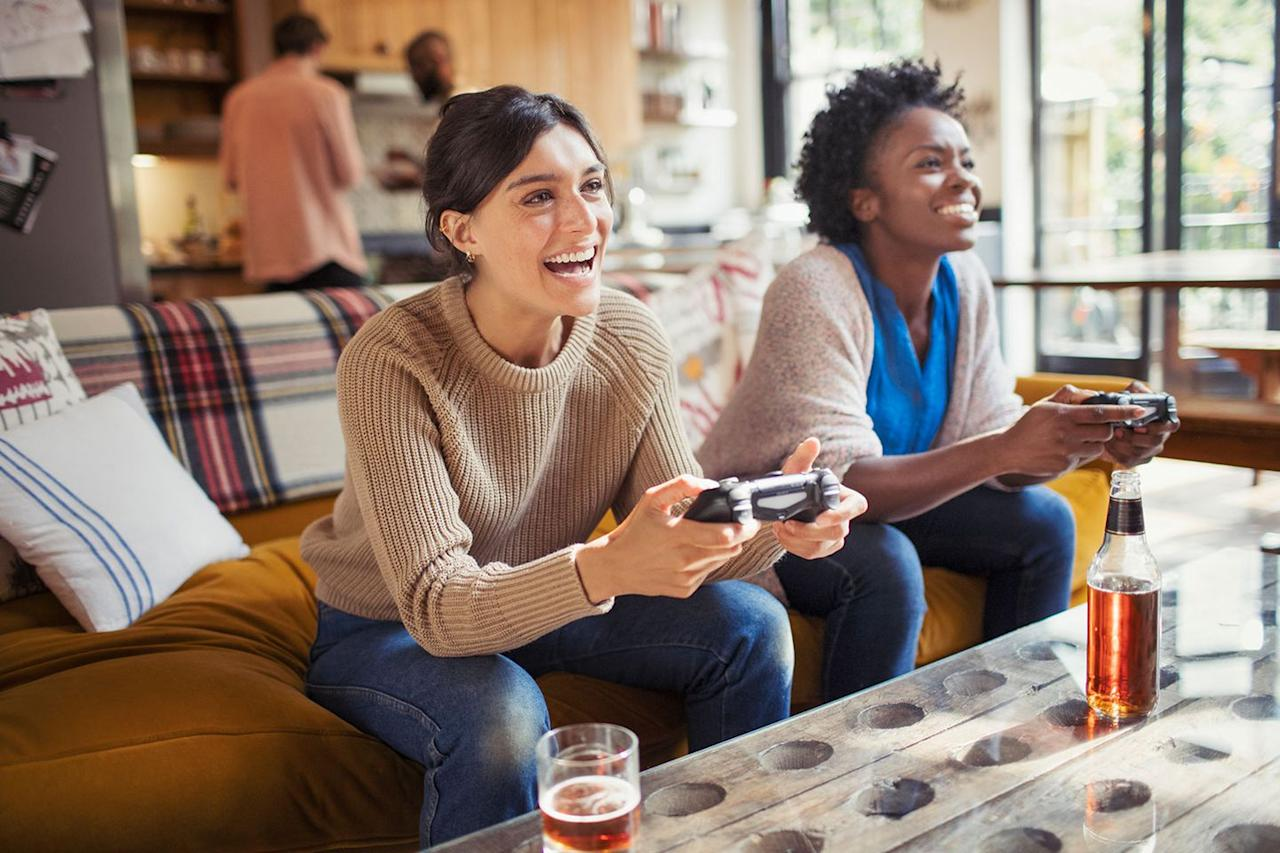 "<p>Relationships can be a wonderful, but they can also monopolize your time. Enjoying life as a single means doing whatever makes you happy. Go ahead and call up some friends for <a rel=""nofollow"" href=""https://www.amazon.com/Nintendo-Switch-Neon-Red-Blue-Joy/dp/B01MUAGZ49"">a day of video gaming</a>, if that floats your boat.</p>"