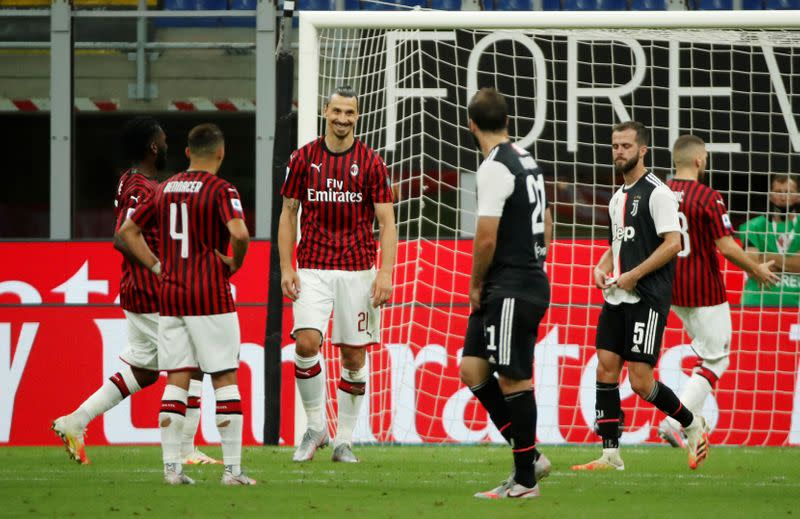 Milan could have won title if I'd played all season - Ibrahimovic