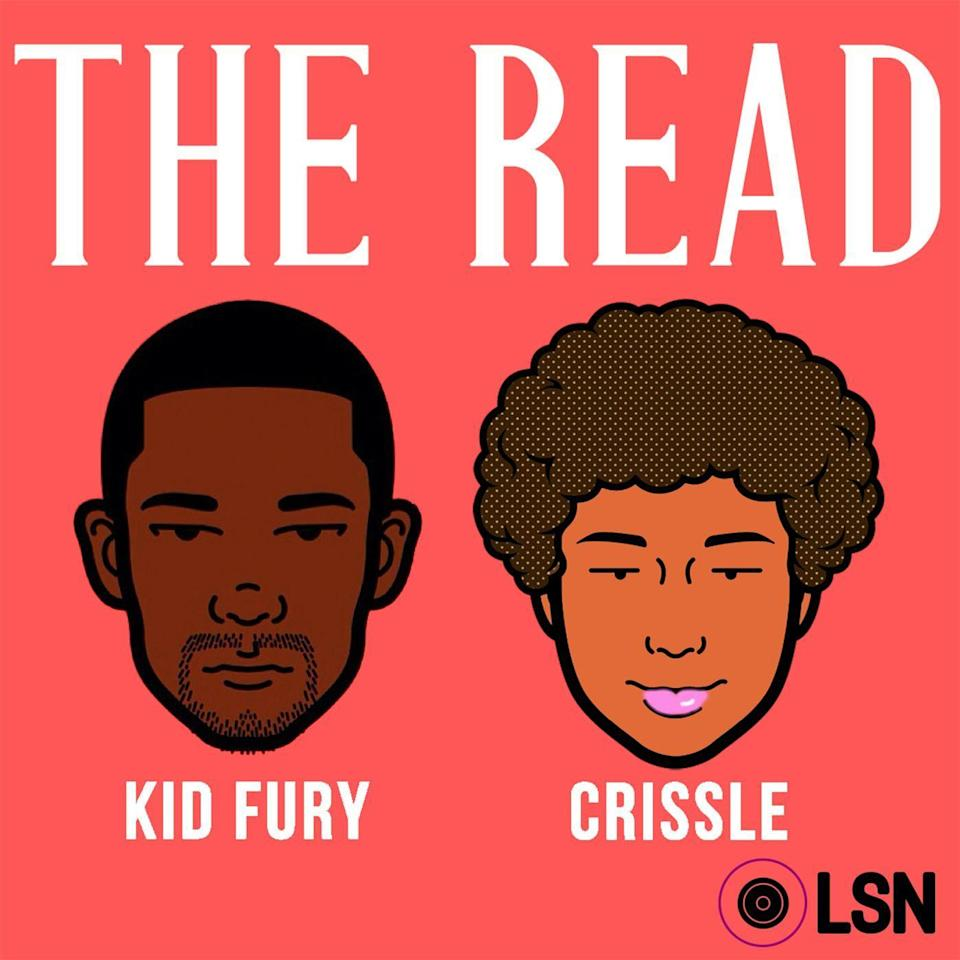 """<p>Crissle West (@crissle) and Kid Fury (@kidfury) never miss a beat when it comes to making me laugh. They recap the week's pop culture foolishness and celebrate black accomplishments, all while answering some of the wildest reader questions I have ever heard. Remember when that one girl asked if she should keep hanging out with the stud who got her car repossessed?</p><p><br><a class=""""link rapid-noclick-resp"""" href=""""https://podcasts.apple.com/us/podcast/youve-got-kale/id619369512?i=1000475829201"""" rel=""""nofollow noopener"""" target=""""_blank"""" data-ylk=""""slk:LISTEN NOW"""">LISTEN NOW </a></p>"""