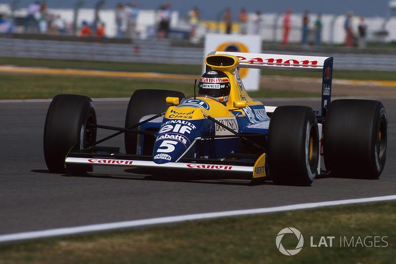 """Thierry Boutsen, Williams-Renault FW13B, 1990<span class=""""copyright"""">Sutton Motorsport Images</span>"""