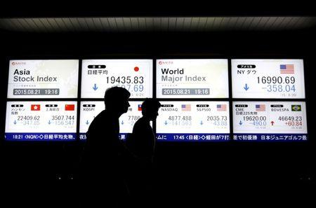 Asian markets rally; Nikkei closes above 20000 as yen falls