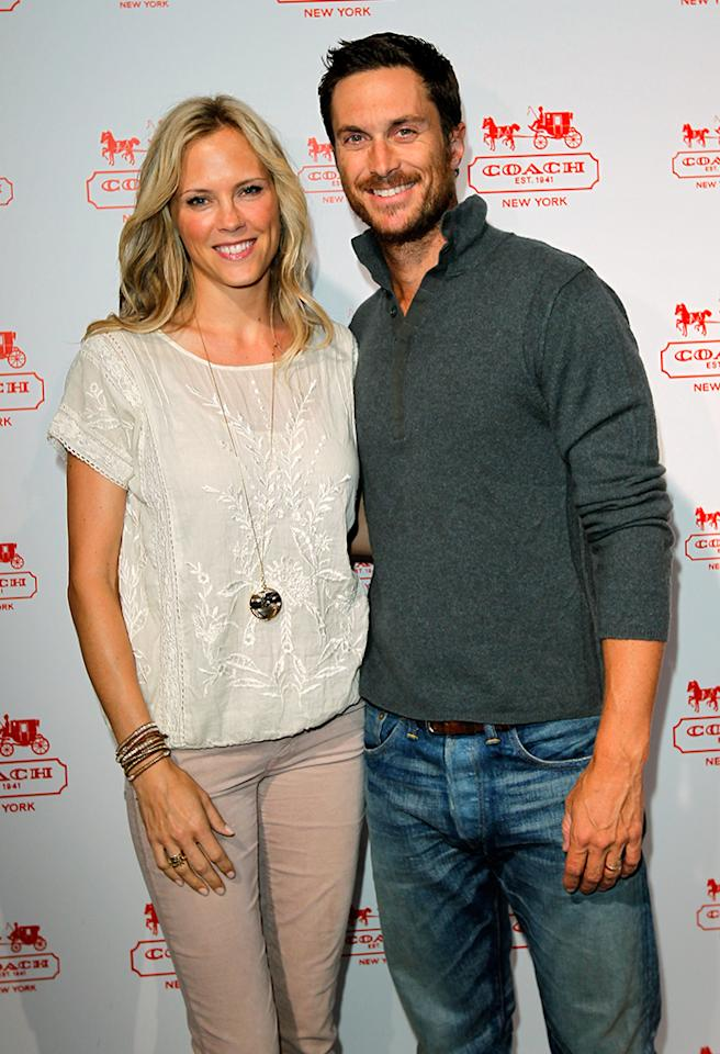 """<b>Rio Hudson – July 18, 2013</b> It sounds like Oliver Hudson and his wife, Erinn, are ready to get the party started with their latest kiddo. Oliver's A-list mom, Goldie Hawn, announced on Twitter that there was a new child in the Hudson brood on July 18 – granddaughter Rio. """"Welcome Rio! Our first baby girl to join our family!"""" Hawn wrote. """"Oliver and Erinn thank you for bringing so much JOY to our lives! #happiness"""", Goldie tweeted. Little Rio will join older brother, Wilder Brooks, 5, and Bodhi Hawn, 3."""