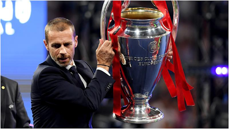Coronavirus: Champions League must finish by August 3, declares UEFA president Ceferin