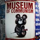 "Poster for ""Museum Of Communism"" in Prague. (#NickInEurope)"