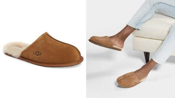 Best Valentine's Day gifts for men: Ugg slippers.