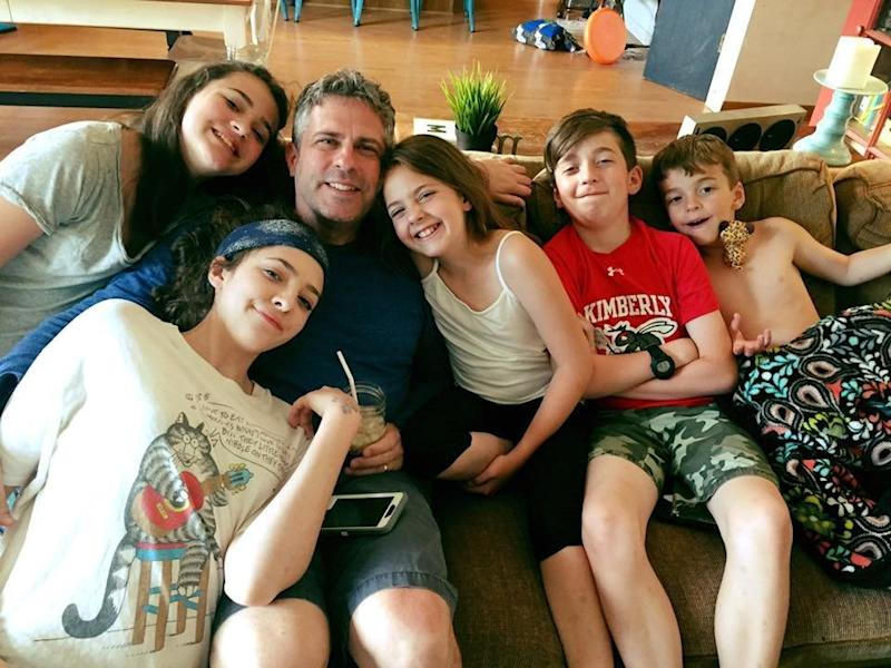 Todd and the couple's five kids. (Amy Betters-Midtvedt)