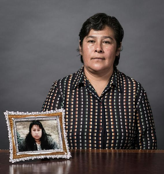Maria Elena Gonzalez lost her sister Gloria in the earthquake