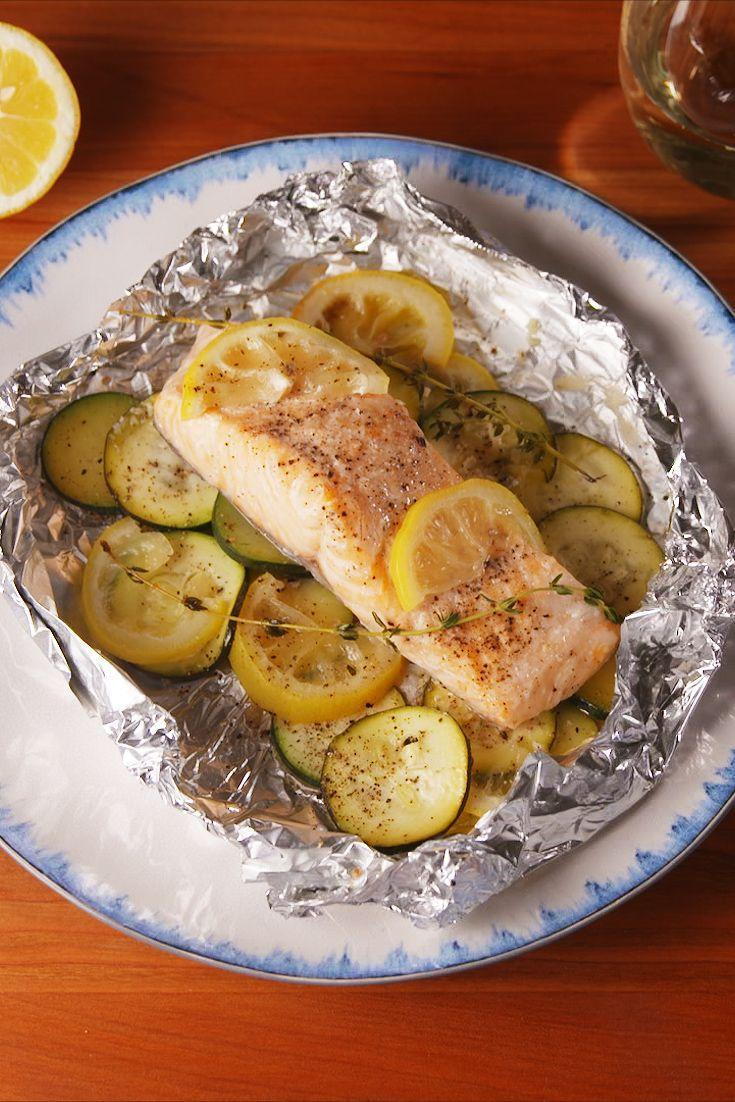 "<p>Make dinner classy without the cleanup.</p><p>Get the recipe from <a href=""https://www.delish.com/cooking/recipes/a53206/lemon-butter-salmon-foil-packs-recipe/"" rel=""nofollow noopener"" target=""_blank"" data-ylk=""slk:Delish"" class=""link rapid-noclick-resp"">Delish</a>.</p>"