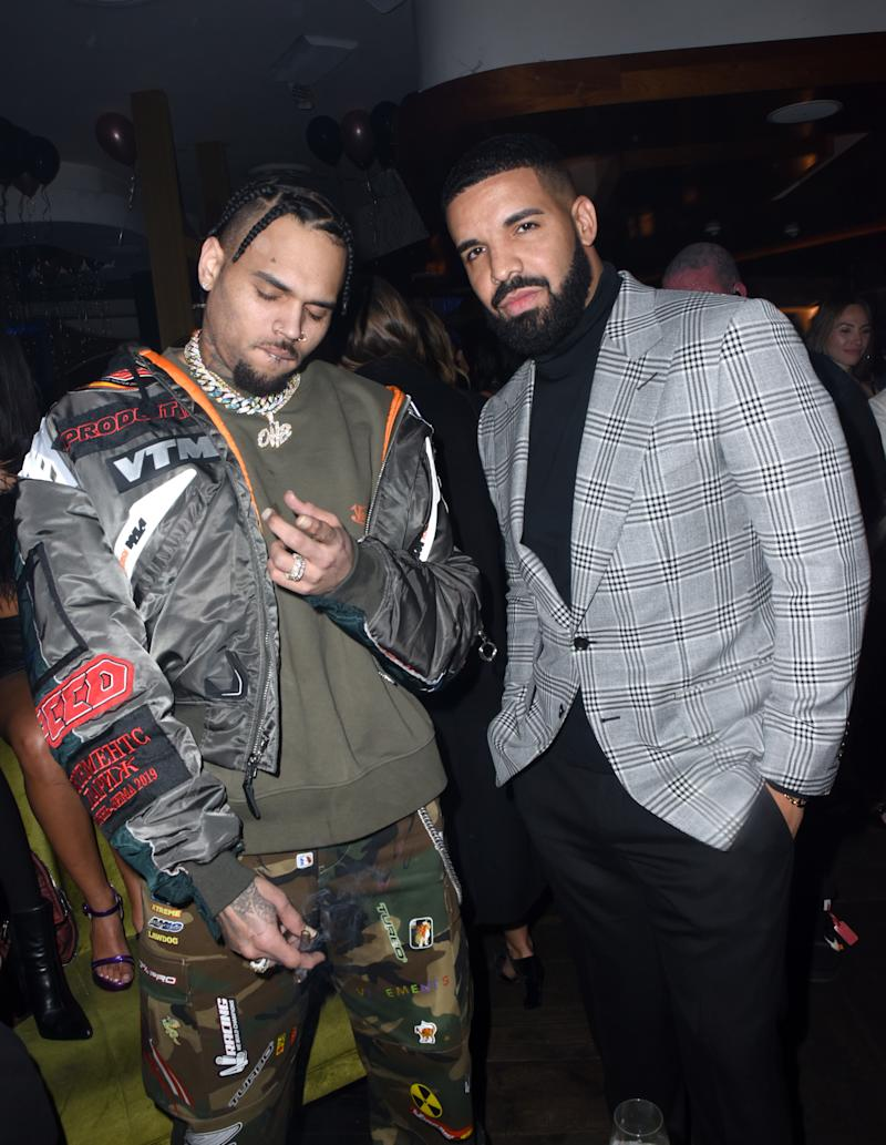 Chris Brown and Drake rekindled their friendship in 2018, releasing a collaboration this summer. (Photo: Vivien Killilea/Getty Images for The h.wood Group)