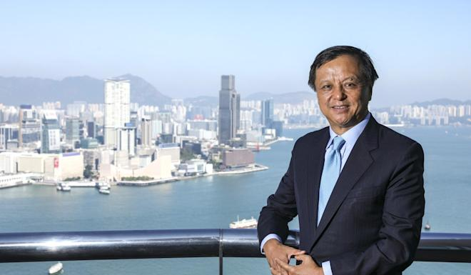 Charles Li Xiaojia, chief executive officer of Hong Kong Exchanges and Clearing, rejected the idea that Hong Kong's best days are in the past. Photo: Nora Tam