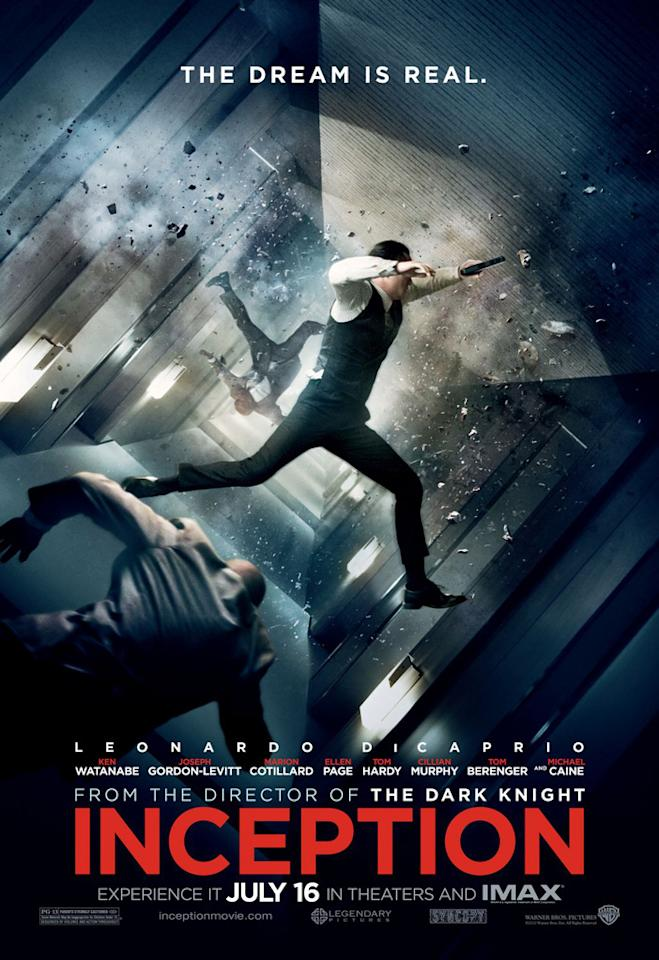 "The Best:  <a href=""http://movies.yahoo.com/movie/1810099246/info"">INCEPTION</a>    This poster simply depicts one the most memorable, visually arresting sequences from Christopher Nolan's sci-fi heist thriller, and it works."
