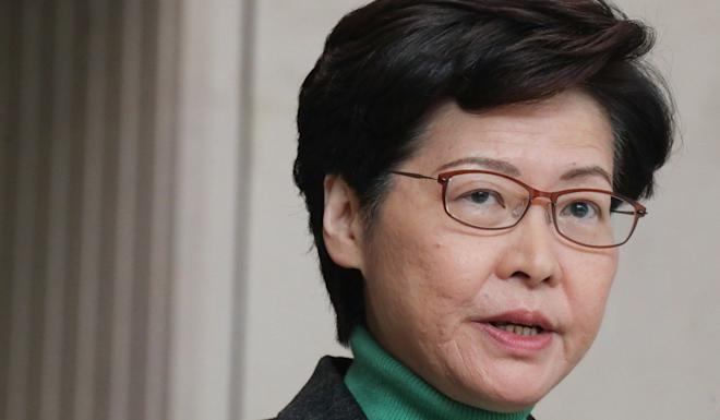 Chief Executive Carrie Lam announced the starter homes project in 2017. Photo: Felix Wong