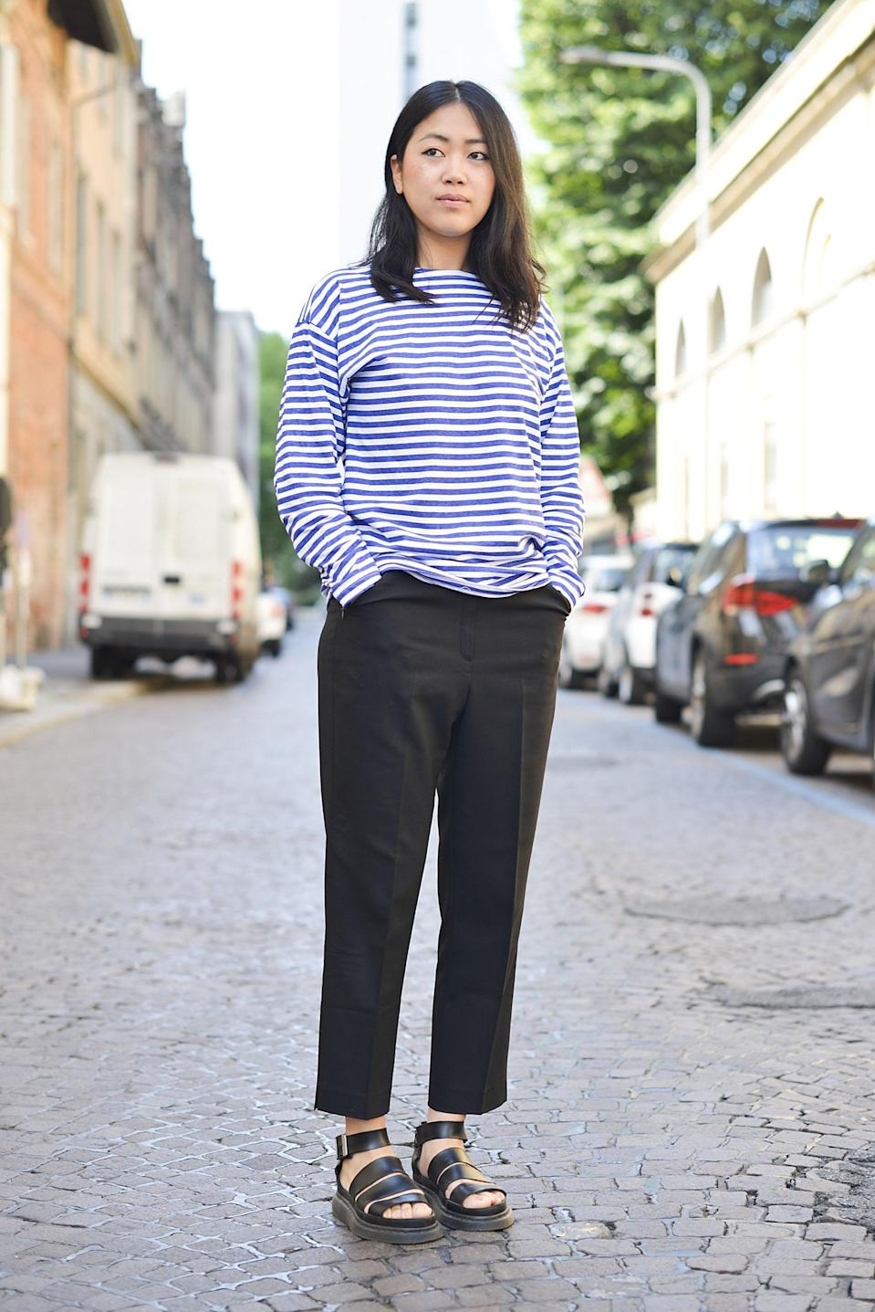 <p>When casual separates come together for a perfectly complete outfit.</p>