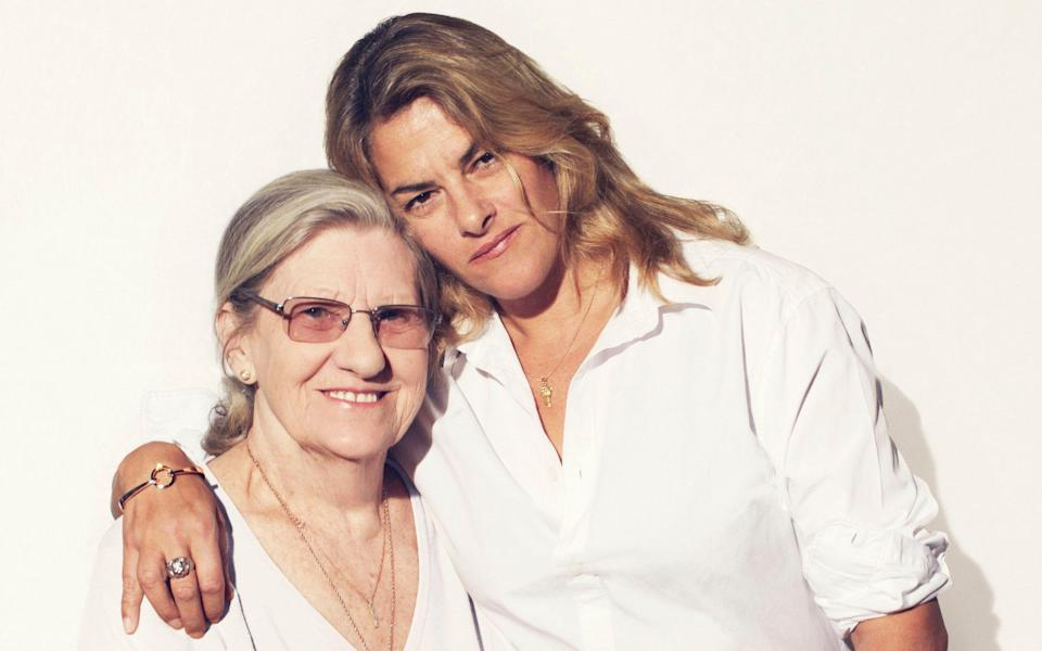 Tracey Emin with her mother Pam, who died of bladder cancer in 2016 - Jonathan Glynn-Smith / Chilli Media