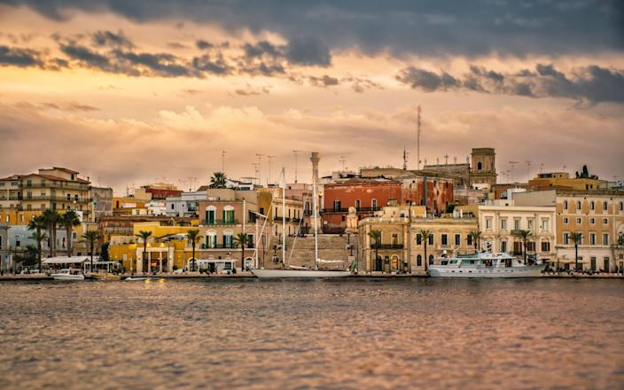 The skyline of Brindisi, where the World War Two-era bomb was defused - EyeEm