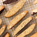 """<p>These babies are made for dipping into coffee or another favourite hot drink. We think of them as an acceptable excuse to eat cookies for breakfast, but also love them as an afternoon and after dinner treat. Clearly, we can eat them any time of day. </p><p>Get the <a href=""""https://www.delish.com/uk/cooking/recipes/a34187632/biscotti-recipe/"""" rel=""""nofollow noopener"""" target=""""_blank"""" data-ylk=""""slk:Biscotti"""" class=""""link rapid-noclick-resp"""">Biscotti</a> recipe.</p>"""