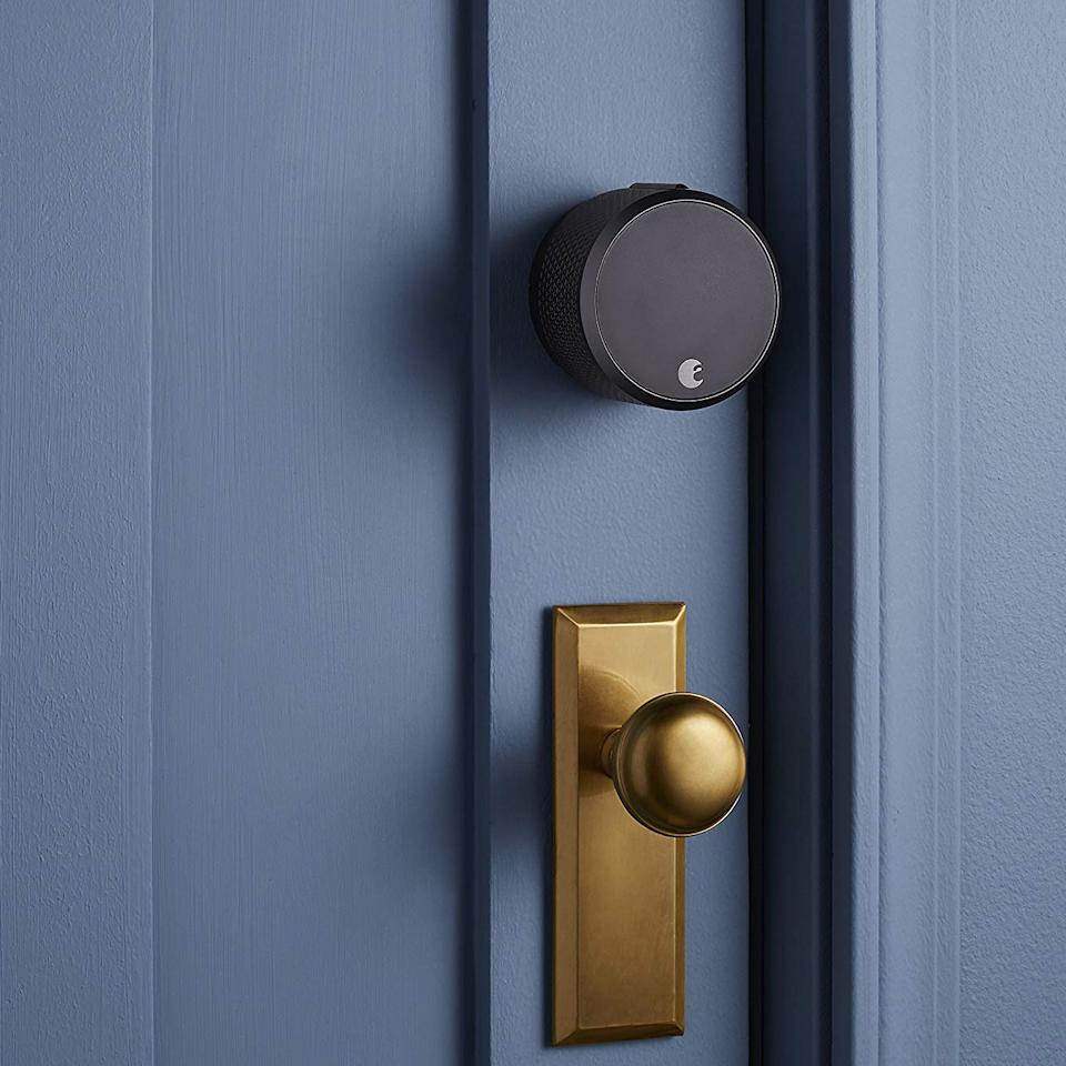 Save $110 on this sleek-and-simple smart-home lock!  (Photo: Amazon)