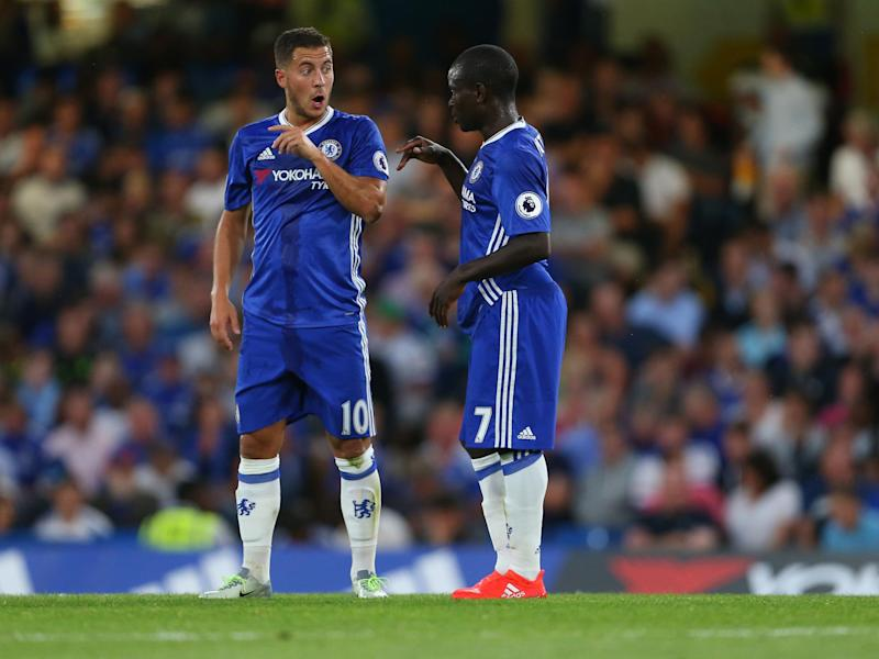 Kante has tipped Hazard to win the award for a second time: Getty