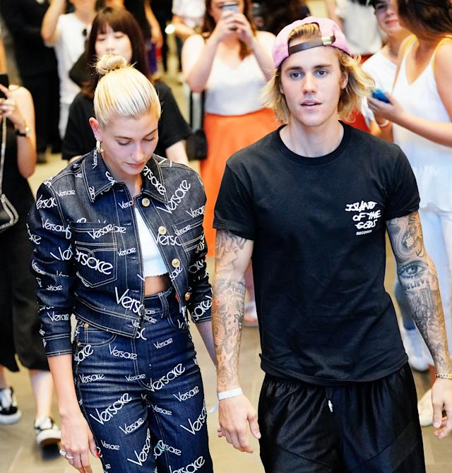 ec4d0d39a8e Justin Bieber s Engagement to Hailey Baldwin Has Twitter in an Absolute  Tizzy