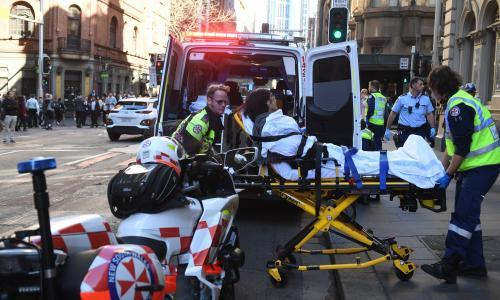 Sydney stabbing: one woman killed and one injured in 'terrifying carnage' in CBD