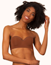 """<p><strong>Key selling points:</strong> Praised for its soft and flexible feel, this breathable strapless bra is the no-wire style you didn't know you needed. With hook-and-eye back closure and a no-slip strip, the band will keep the lightly-lined foam cups up all day long.</p> <p><strong>What customers say:</strong> """"I have never written a review for a clothing item before, but I had to take the time to write one for this bra. I have been looking for the perfect strapless bra for like, ever! And I finally found it! Not only is this bra so comfortable (no wires digging into your skin), but it actually provides support and stays put! It does not slide around or slide down at all, and I honestly forget I have it on. I am small-busted and have a small frame, and I am <em>so</em> happy I tried this bra. Thank you, Lively!"""" —<em>Dixie, reviewer on</em> <a href=""""https://fave.co/3jaYKah"""" rel=""""nofollow noopener"""" target=""""_blank"""" data-ylk=""""slk:Lively"""" class=""""link rapid-noclick-resp""""><em>Lively</em></a></p> $35, Lively. <a href=""""https://www.wearlively.com/products/the-no-wire-strapless-rich-clay"""" rel=""""nofollow noopener"""" target=""""_blank"""" data-ylk=""""slk:Get it now!"""" class=""""link rapid-noclick-resp"""">Get it now!</a>"""