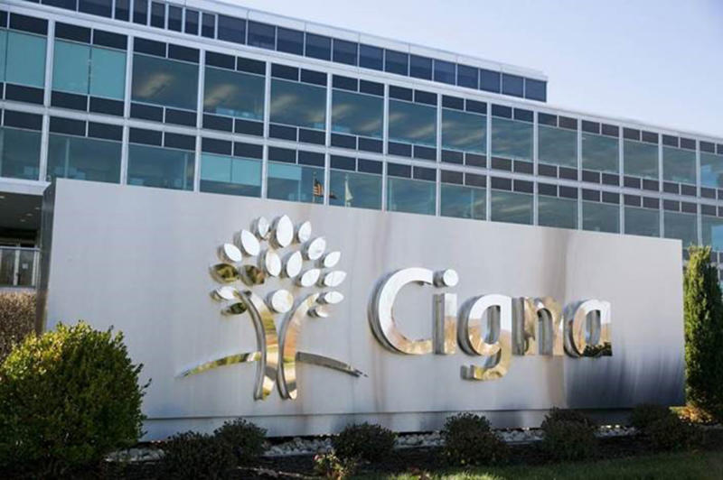 IMAGE DISTRIBUTED FOR CIGNA - Cigna corporate headquarters in Bloomfield, Conn. (Cigna via AP Images)