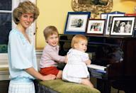 """<p>As August 31 marks the 22nd anniversary of Princess Diana's tragic death, we're celebrating the legacy the late royal left behind. From her <a href=""""http://www.harpersbazaar.com/fashion/street-style/g10330122/princess-diana-fashion-style/"""" rel=""""nofollow noopener"""" target=""""_blank"""" data-ylk=""""slk:trend-setting sense of style"""" class=""""link rapid-noclick-resp"""">trend-setting sense of style</a>, to her <a href=""""http://www.harpersbazaar.com/culture/politics/a12102124/prince-harry-prince-william-princess-diana-charity-event/"""" rel=""""nofollow noopener"""" target=""""_blank"""" data-ylk=""""slk:philanthropic endeavors"""" class=""""link rapid-noclick-resp"""">philanthropic endeavors</a> and <a href=""""http://www.harpersbazaar.com/celebrity/red-carpet-dresses/g12025982/princess-diana-travel-photos/"""" rel=""""nofollow noopener"""" target=""""_blank"""" data-ylk=""""slk:travels around the world"""" class=""""link rapid-noclick-resp"""">travels around the world</a>, Princess Di became the """"People's Princess"""" not only to the people of Britain, but to the entire world. One of her most important roles, however, was always doting mom to Prince William and Prince Harry. Take a look back at Diana's sweetest moments with her sons over the years. </p>"""