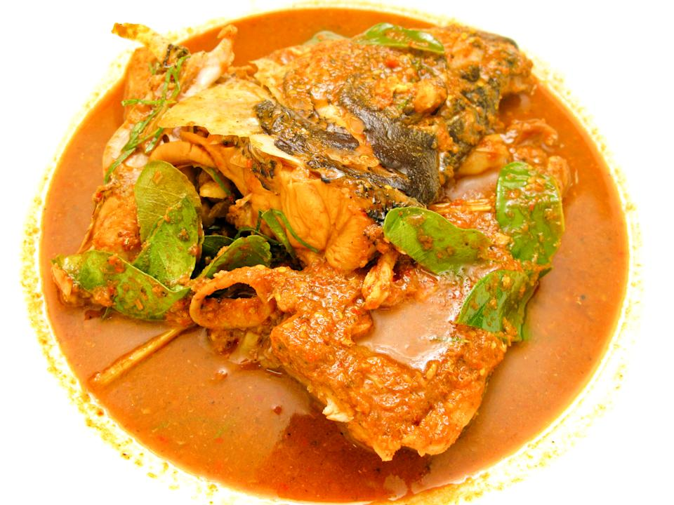 Chili fish head curry. (PHOTO: Getty Images)