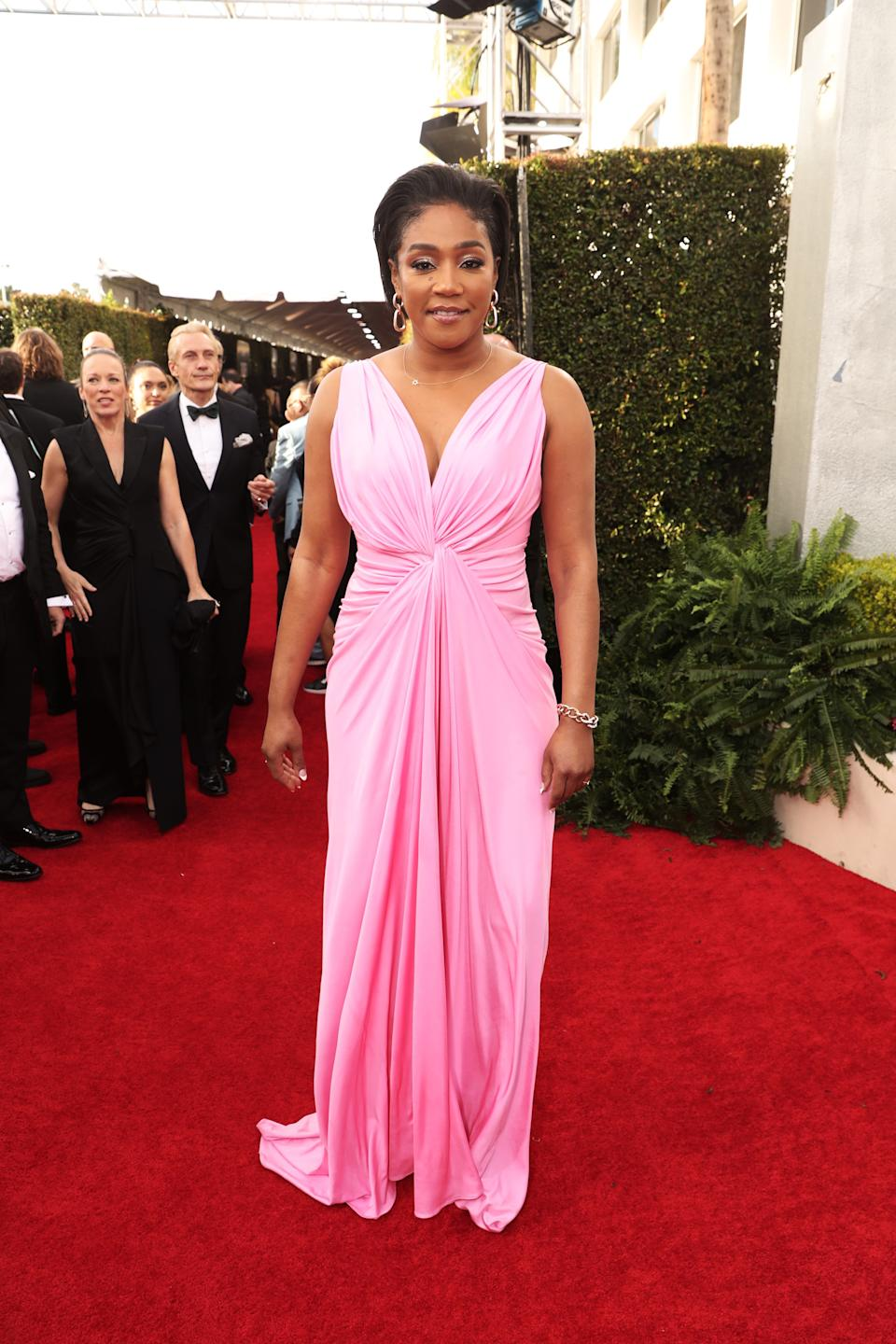 "<h1 class=""title"">Tiffany Haddish in Galia Lahav and Jimmy Choo shoes</h1><cite class=""credit"">Photo: Getty Images</cite>"